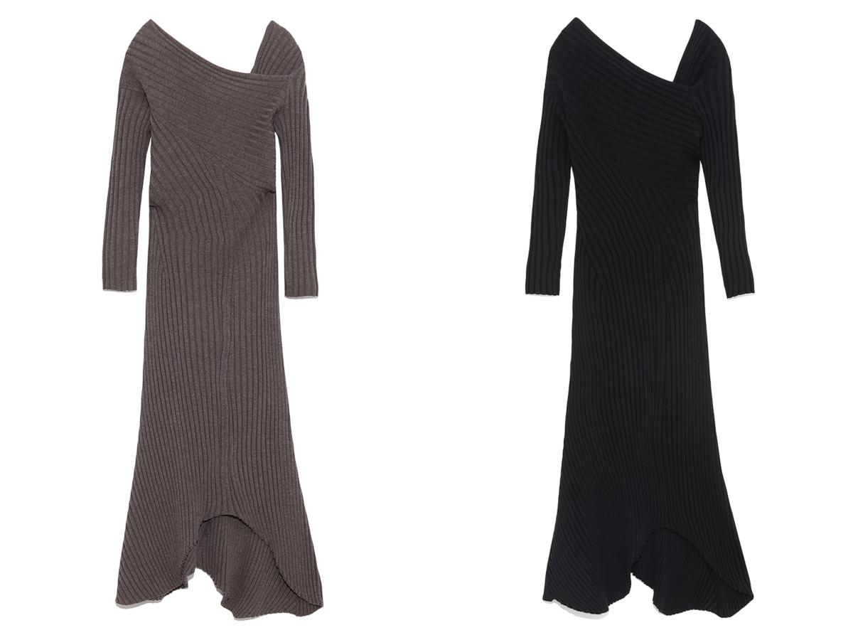 Open Back Knit Dress ¥24,000/マッシュスタイルラボ(スタイリング/)