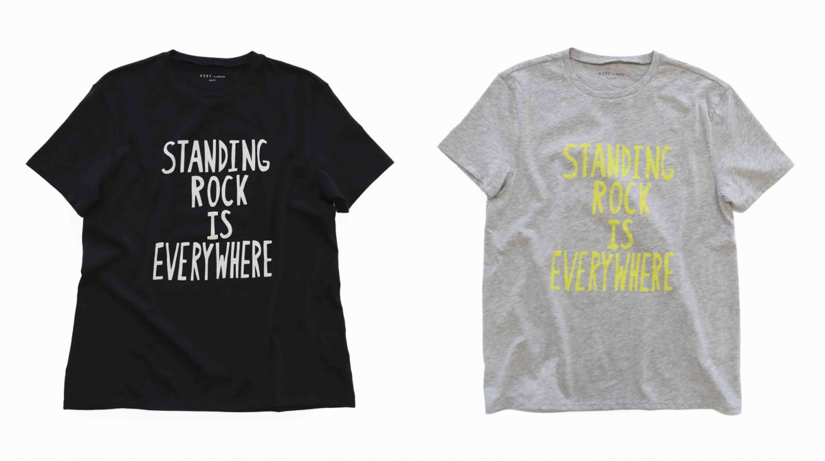 Standing Rock is Everywhere Boy T 各$95/6397