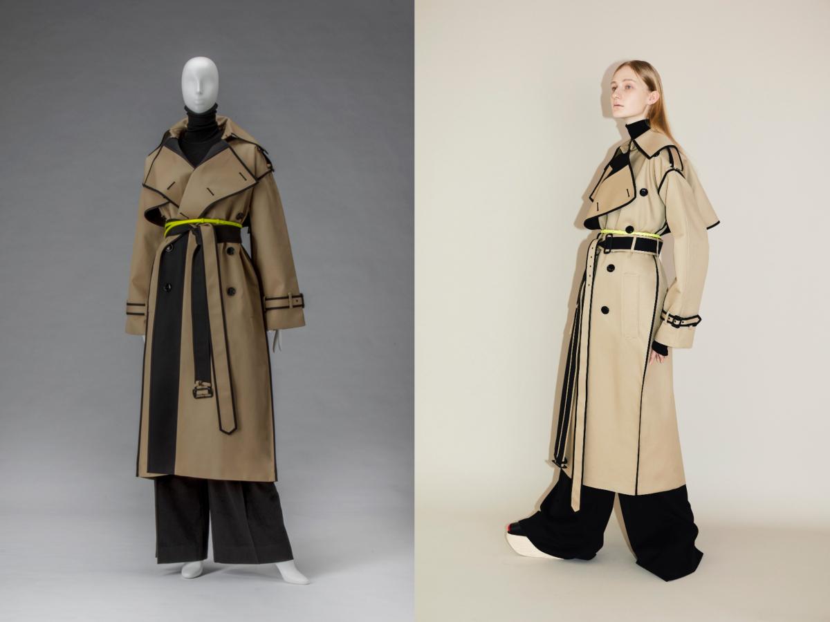 『ドレス・コード?ー着る人たちのゲーム』で展示中の