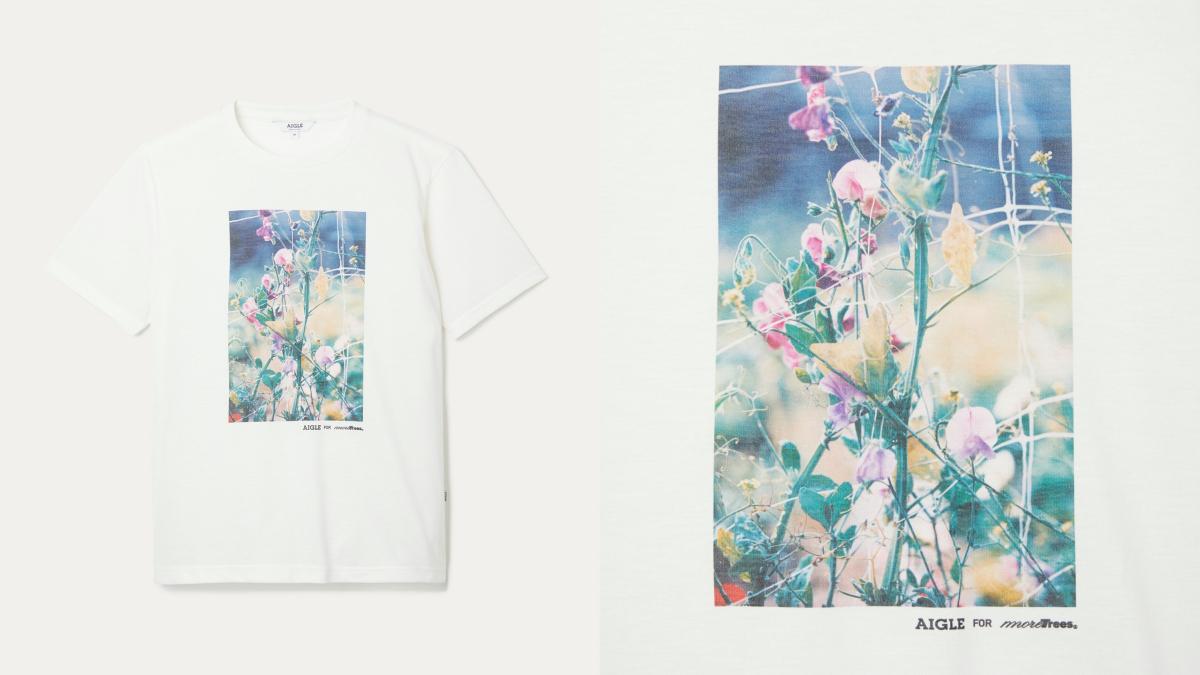 Tシャツ ¥5,900/エーグルカスタマーサービス