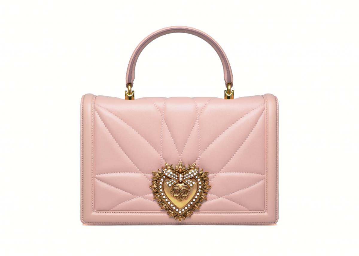 「ディヴォーション バッグ」日本限定カラー ラージサイズ(ハンドル)¥229,000〈W25.5×H17.5×D5.5cm〉/ドルチェ&ガッバーナ ©Dolce&Gabbana