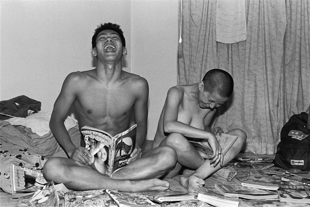 《Self-Portrait (Brother #34)》1993年 ゼラチン・シルバー・プリント 東京都写真美術館蔵
