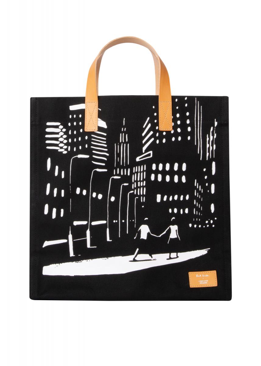 キャンバスバッグ ¥29,000/ポール・スミス リミテッド