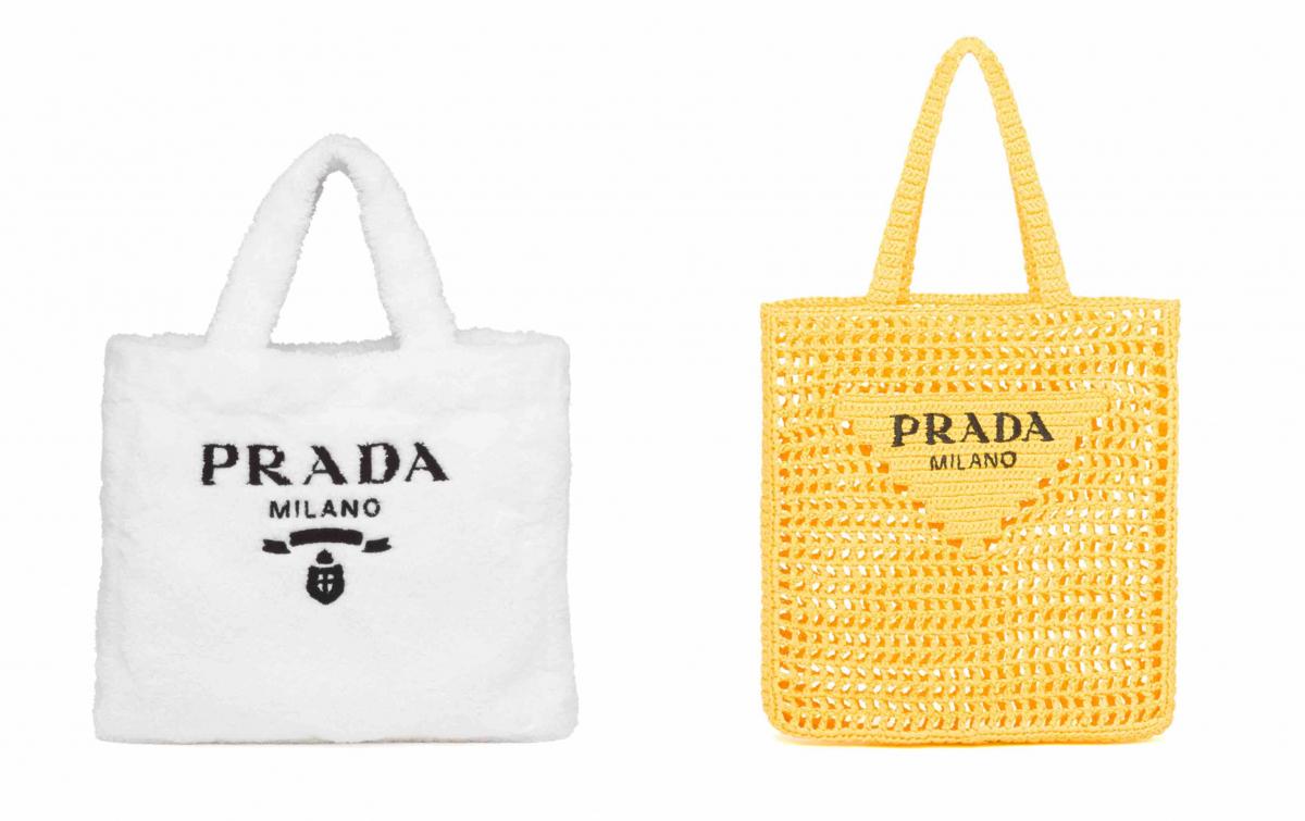 (左より)バッグ ¥154,000、バッグ ¥147,400(予定価格)/プラダ クライアントサービス