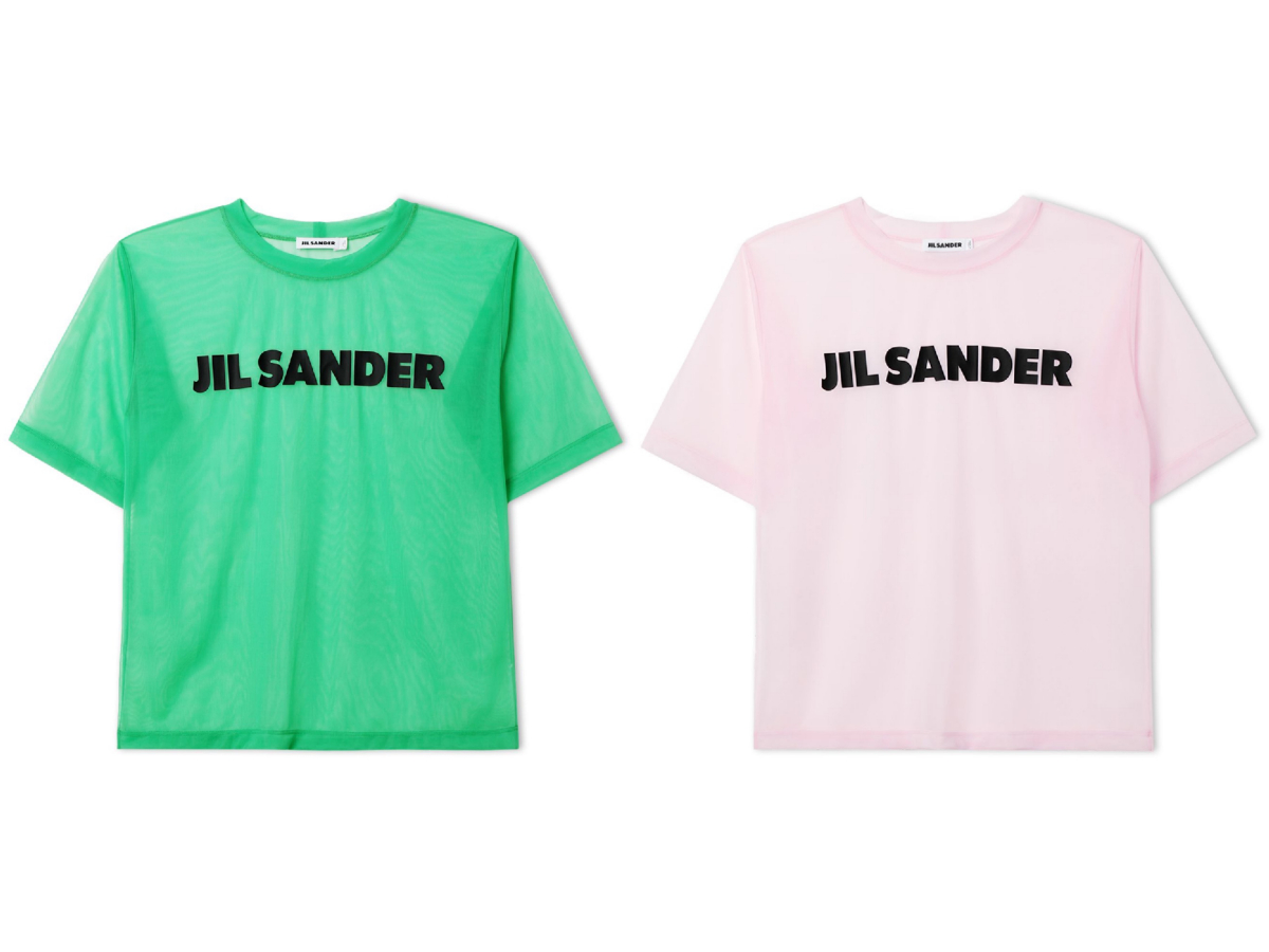 Tシャツ各¥35,000/オンワードグローバルファッション(ジル・サンダー)