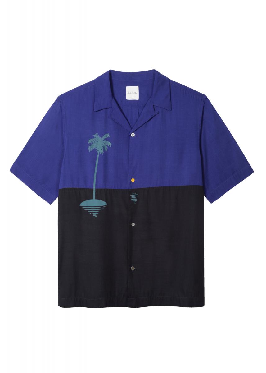 メンズ半袖シャツ ¥28,000/ポール・スミス リミテッド