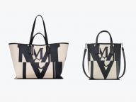 グリッチアートを取り入れた新ロゴデザイン! マルチユースなMCMのショッパーバッグ