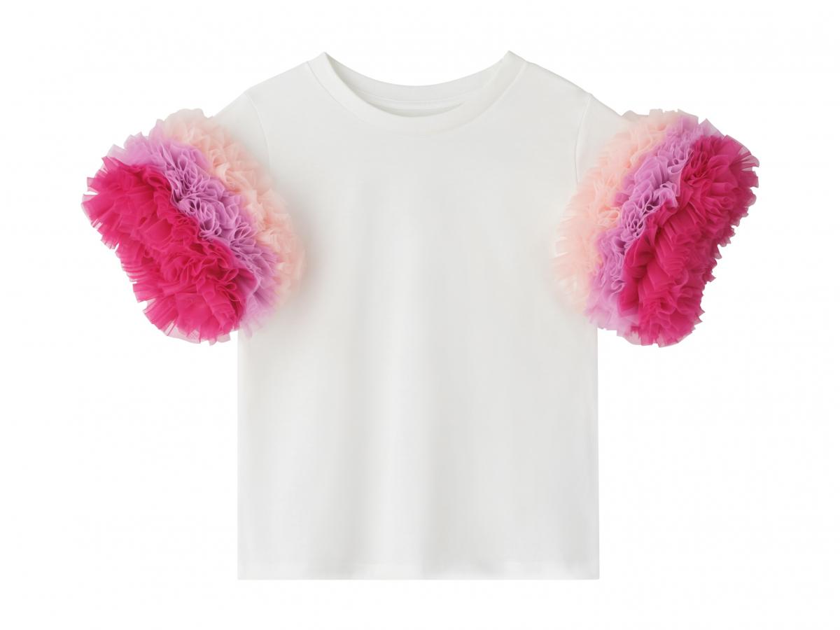 Tシャツ(ラッフルスリーブ)全5色 各¥35,200/トモコイズミ