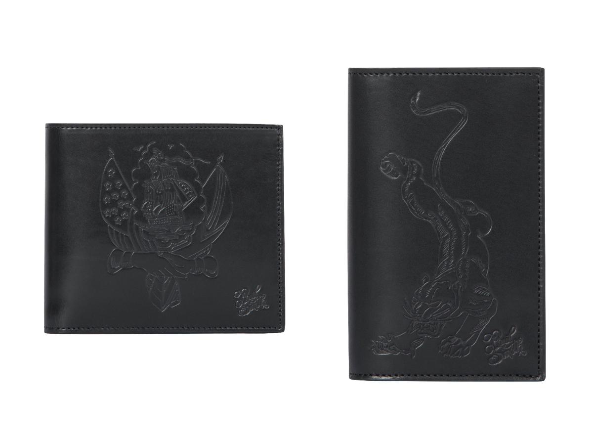 (左より)二つ折り財布 ¥27,000/ポール・スミス リミテッド カードケース ¥23,000/ポール・スミス リミテッド