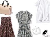 【清水奈緒美さん】パンツを脱いで、春はフェミニンに。ドレスコードはスカートとワンピース