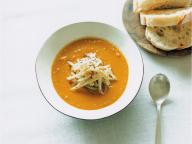 かぼちゃのスープ スパイスセロリ添え - 今月のスープ | vol. 08