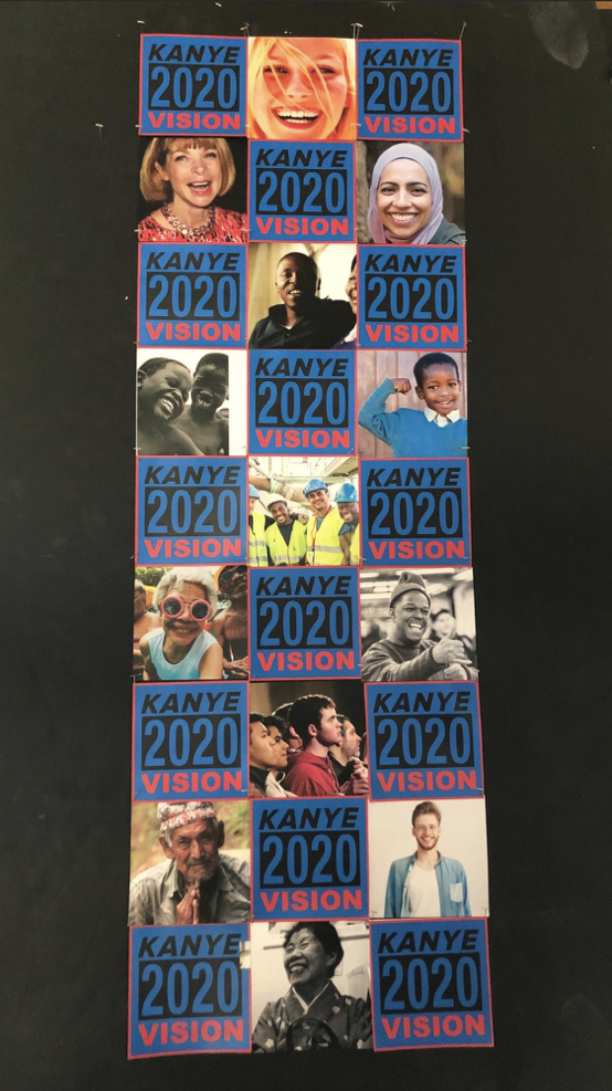 2020年8月19日(現地時間)、米大統領選に立候補しているカニエ・ウェスト(43)が、キャンペーンポスターを公開。