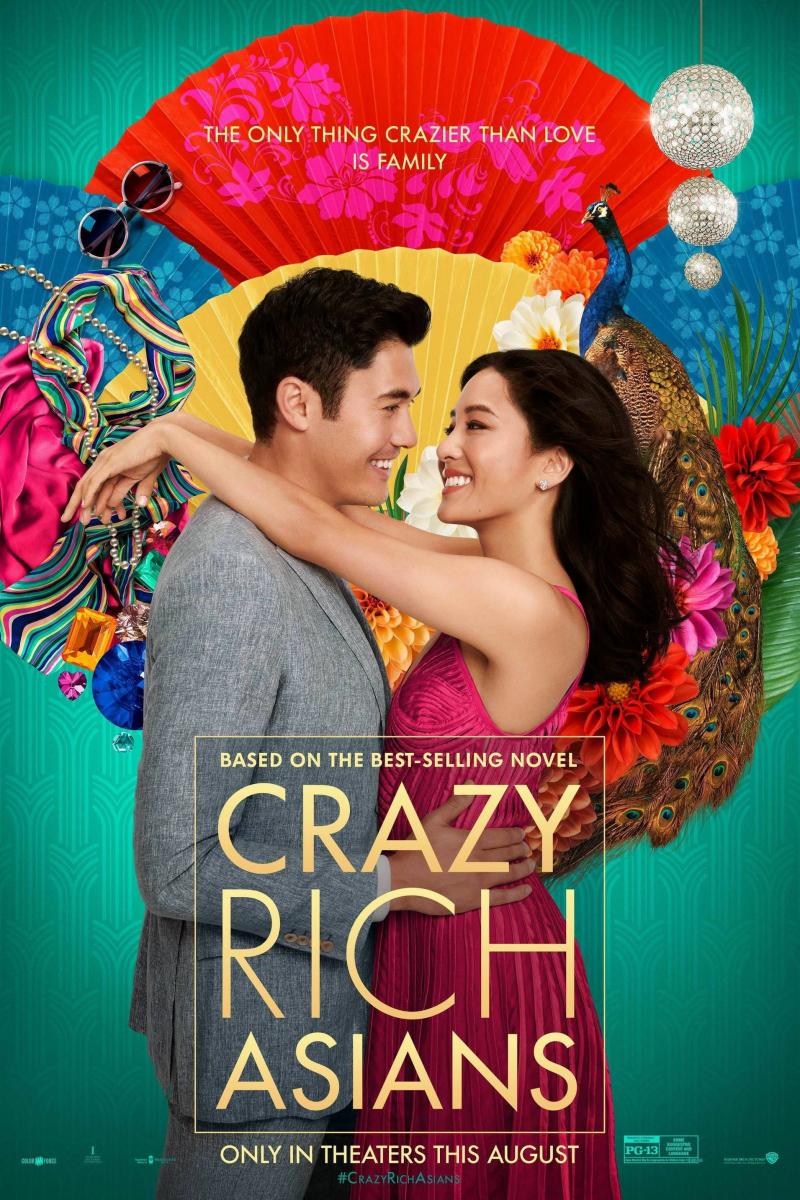 『クレイジー・リッチ!』ニューヨークで知り合ったニック(ヘンリー・ゴールディング)と交際中のレイチェル(コンスタンス・ウー)。ニックの帰省に付き添って訪れたシンガポールで、自分の恋人がアジアきっての不動産王の御曹司であることを知る!
