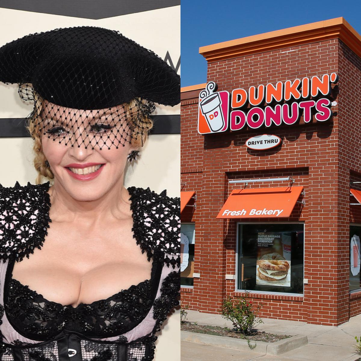 歌手になる夢を追いかけてニューヨークに来たとき、35ドルしか持っていなかったマドンナ(60)。タイムズスクエアにある「ダンキンドーナツ」で仕事をもらうも、ジェリードーナツの中身を客にかけ初日に解雇!