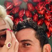 ケイティ・ペリー&オーランド・ブルームがついに婚約! 指輪の推定価格は5.5億円?