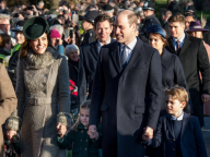 ジョージ王子&シャーロット王女が初参加! ウィリアム王子一家、毎年恒例のクリスマス礼拝へ