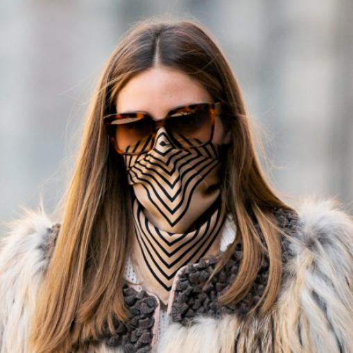 オリヴィア・パレルモ、ハイセンスなコロナ対策ファッションに世界中から熱視線!