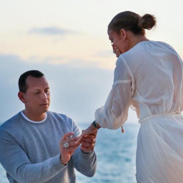 3日間も予行練習していた! ジェニファー・ロペスの婚約者アレックス・ロドリゲス、「完璧すぎるプロポーズ」の秘話を明かす