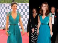 英キャサリン妃、6年前に着用したドレスを再び着こなす! 出産前と変わらない体形に驚きの声も