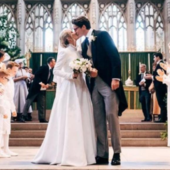 ロイヤルウェディング級! エリー・ゴールディングの結婚式に英王室メンバーやセレブが集結
