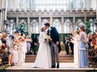 ロイヤルウェディング級の華やかさ! エリー・ゴールディングの結婚式に英王室メンバーや人気セレブが集結