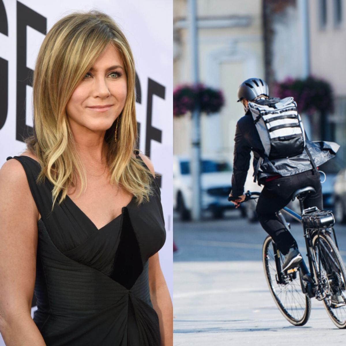 ニューヨークでバイクメッセンジャーをしていたという意外な過去をもつジェニファー・アニストン(50)。ドラマ『フレンズ』のレイチェル役からは想像できない体を張った仕事に、下積み時代の大変さが伝わってくる?