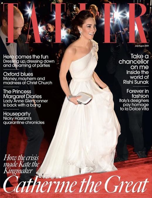 最近では、英『タトラー』誌に「ヘンリー王子夫妻が王室を離脱し、仕事の増加に苦しんでいる」と報じられてしまったキャサリン妃。