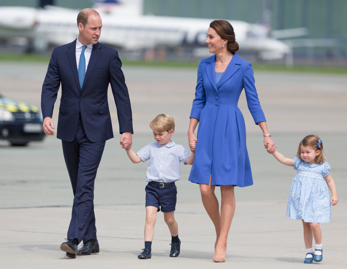 家族4人揃っての公務。仲の良い姿が微笑ましい。Photo:Getty Images