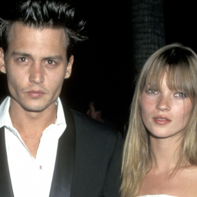 ケイト・モスとジョニー・デップも! あの頃 輝いていた「伝説」のセレブカップル