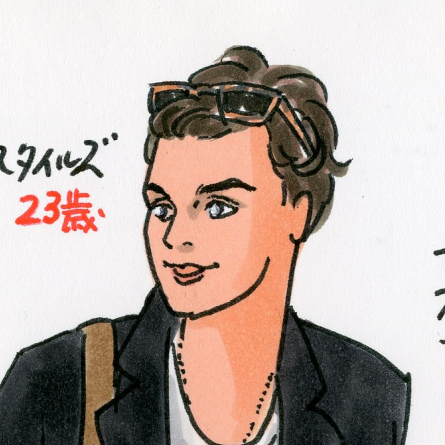 【SPUR】[vol.45] ハリー・スタイルズのかっこいいチェスターコート姿を見て、冬の男のコートについて思いを巡らせた