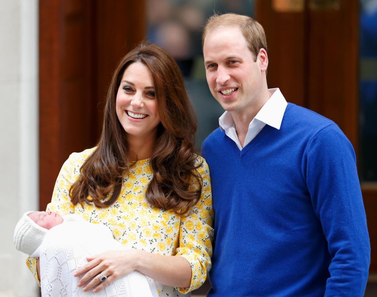 2015年、長女シャーロット王女が誕生。Photo:Getty Images