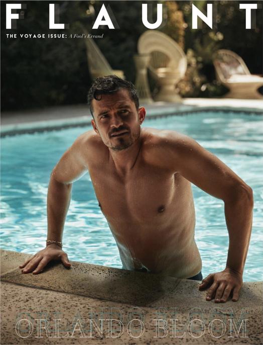 雑誌のカバーで、プールから上がるセクシーショットを見せたオーランド・ブルーム(42)。うっとりするような肉体美はもちろん、シワを寄せた渋い表情もたまらない? アラフォーならでは色気で、ポップクイーンのケイティ・ペリー(35)をもメロメロに!