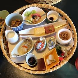 朝から元気になれる、旅館の朝食 #深夜のこっそり話 #907