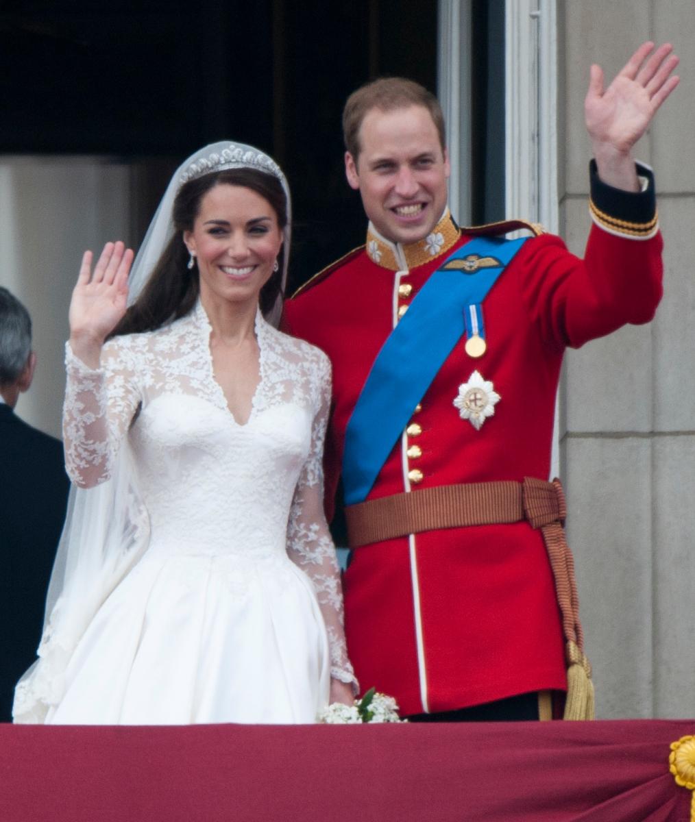 2011年、ウィリアム王子とキャサリン妃のロイヤルウェディング。Photo:Getty Images
