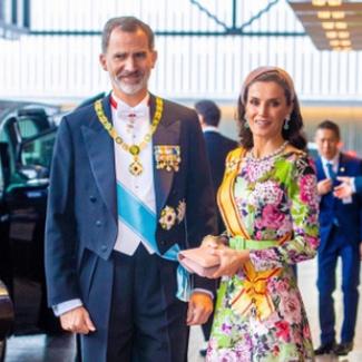 世界のロイヤルファミリーが天皇陛下の「即位礼正殿の儀」に参列! 王妃たちの華やかなドレススタイルをお届け - セレブニュース   SPUR