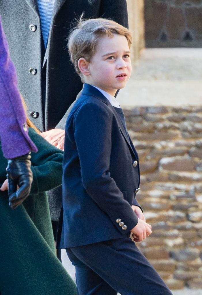 ウィリアム王子(38)&キャサリン妃(38)の長男で、王位継承順位第3位にあたるジョージ王子(7)。Photo:Getty Images