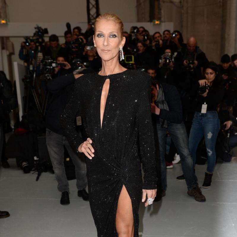 本当に50歳? セリーヌ・ディオンのスリットドレス姿に賞賛の声が続出