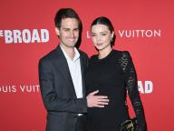 第2子妊娠中のミランダ・カーがおしゃれなマタニティルックを披露