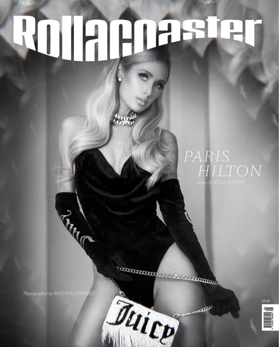 英ファッション誌『Rollacoaster』で表紙を飾ったパリス・ヒルトン(39)。美脚を見せつけたセクシールックを披露!