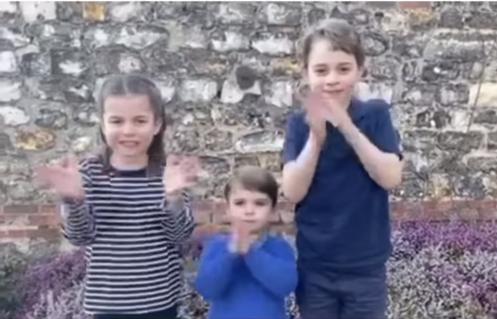 今や世界中に広がっている、医療従事者に拍手を送る「クラップ・フォー・ケアラーズ」。これにならって英王室のインスタグラムで公開されたのが、ジョージ王子(6)、シャーロット王女(4)、ルイ王子(1)が拍手する動画。可愛らしい励ましが、みんなを笑顔に!
