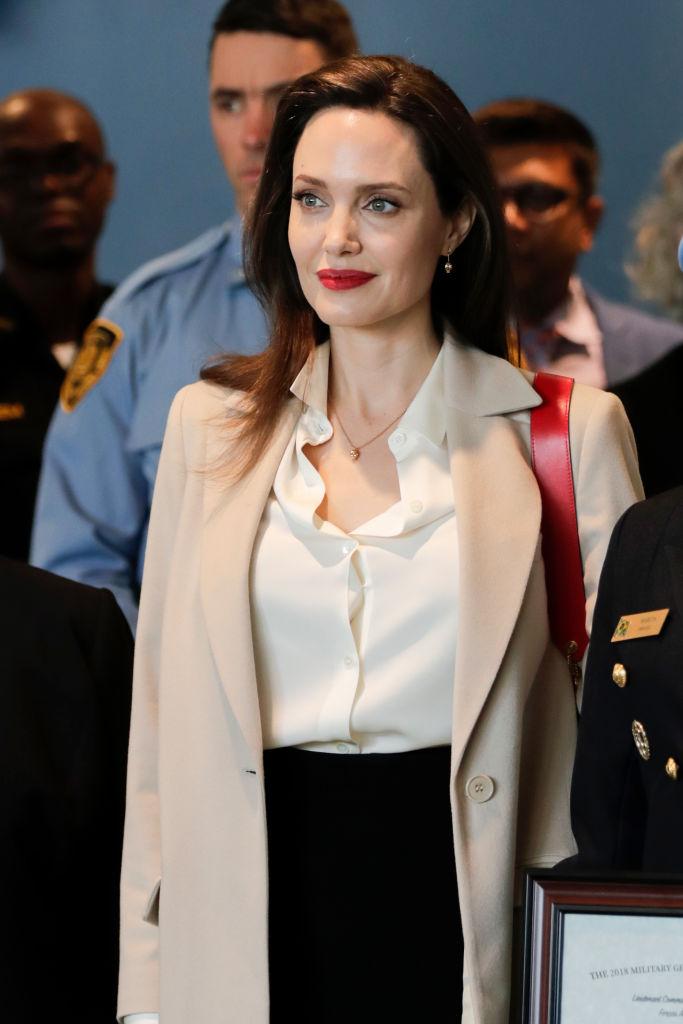 米『タイム』誌のコントリビューティングエディターに就任したアンジェリーナ・ジョリー。