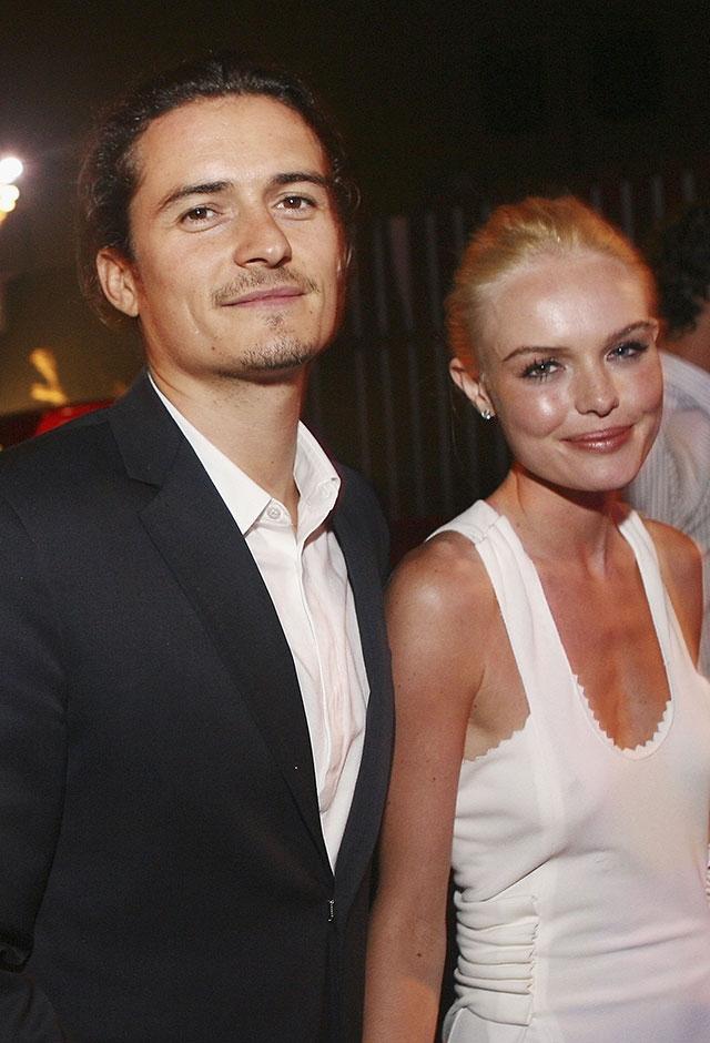 2002年から約4年間交際した、女優のケイト・ボスワースとオーランド・ブルーム