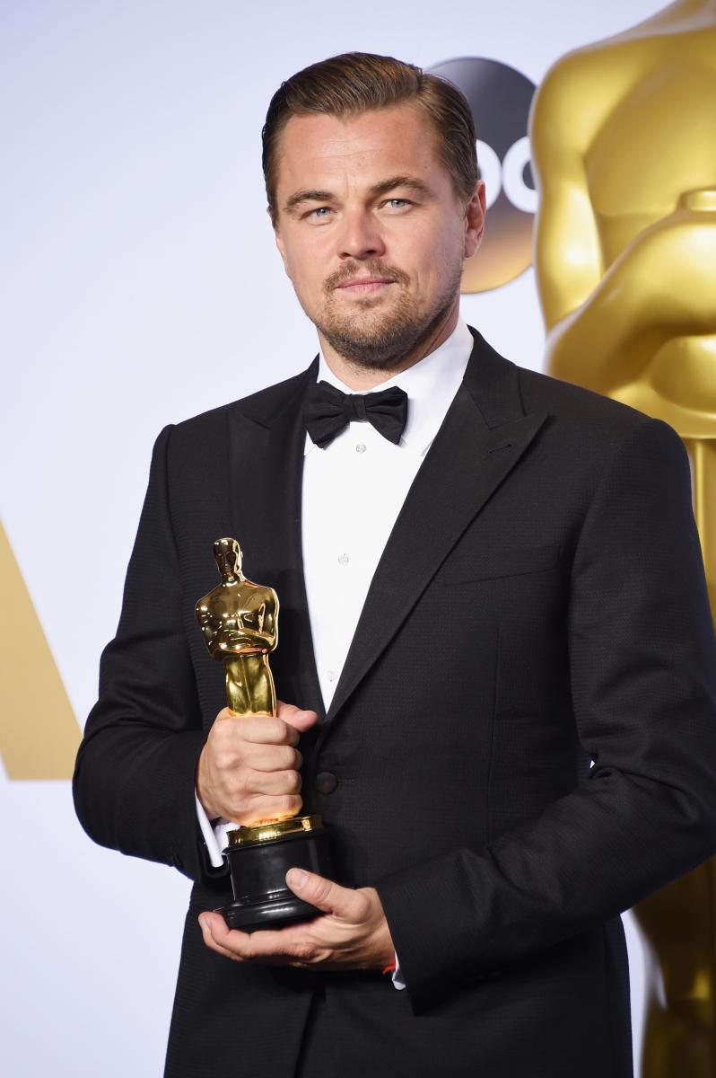映画『レヴェナント:蘇えりし者』で、悲願のアカデミー賞主演男優賞を受賞したレオナルド・ディカプリオ
