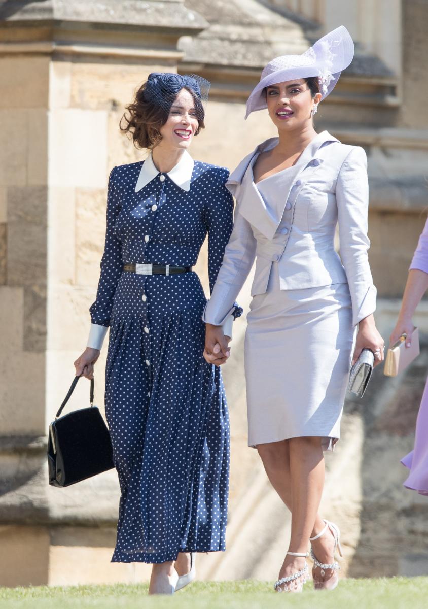 メーガン妃&ヘンリー王子のロイヤルウェディングに出席したインド出身の女優、プリヤンカー・チョープラー