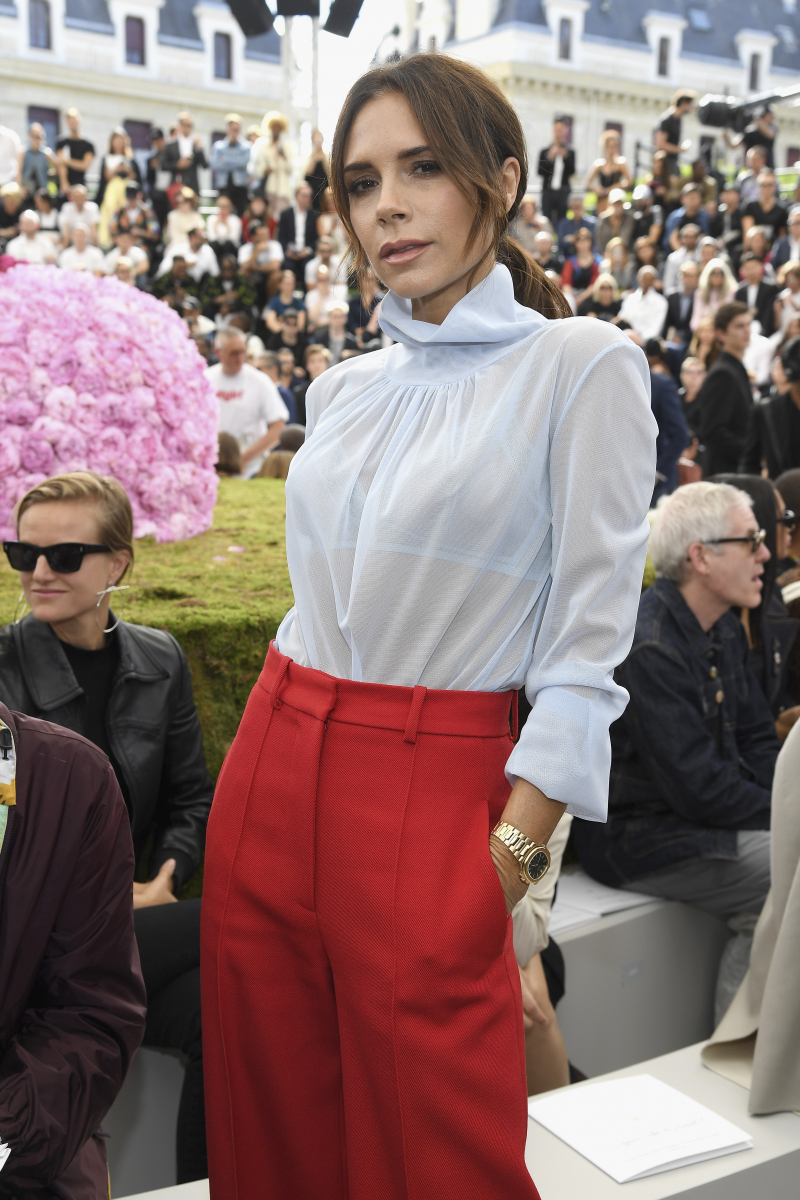 ファッションデザイナーとして大成功を収めたヴィクトリア・ベッカム
