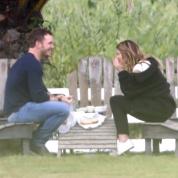 アーノルド・シュワルツェネッガーの娘キャサリン&俳優クリス・プラットのデート現場をキャッチ! 新たなビッグカップル誕生か?