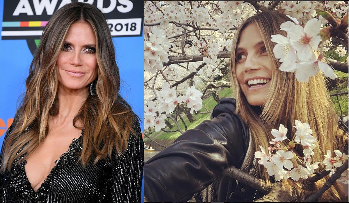 (左)Photo:Getty Images、(右)Photo:instagram(@heidiklum)