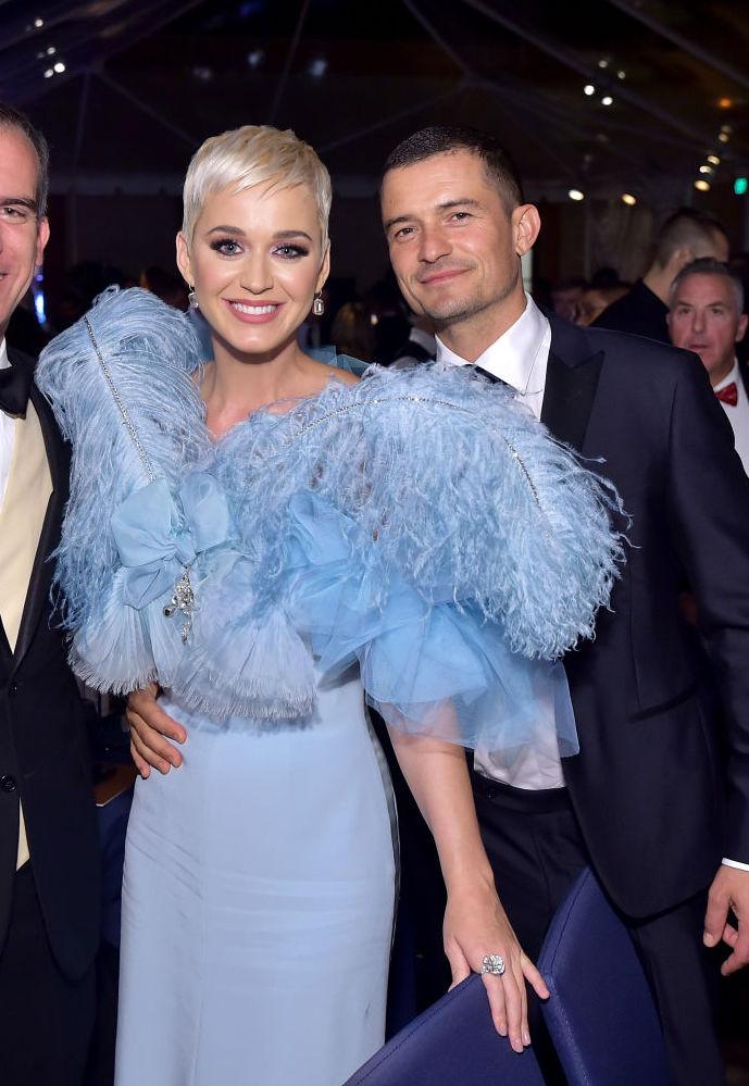 2019年2月、歌手のケイティ・ペリーと婚約したオーランド・ブルーム