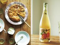 りんごのバターケーキとシードル - 金曜日のアペロ No.21