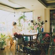 「花好き」のフラワー・セルフィー